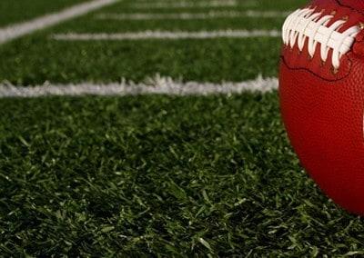 Football-on-Football-Field