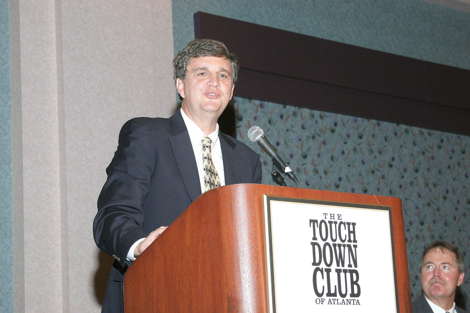 11-8-04 CPJ at the Podium