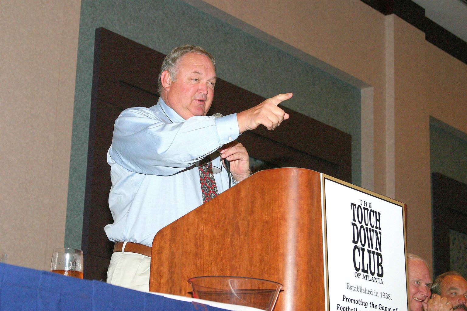 9-20-04 TCA Member & former UGA letterman Curtis McGill