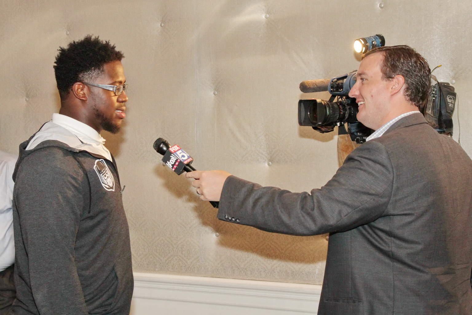 Antwuan Jackson interviewed by FOX 5