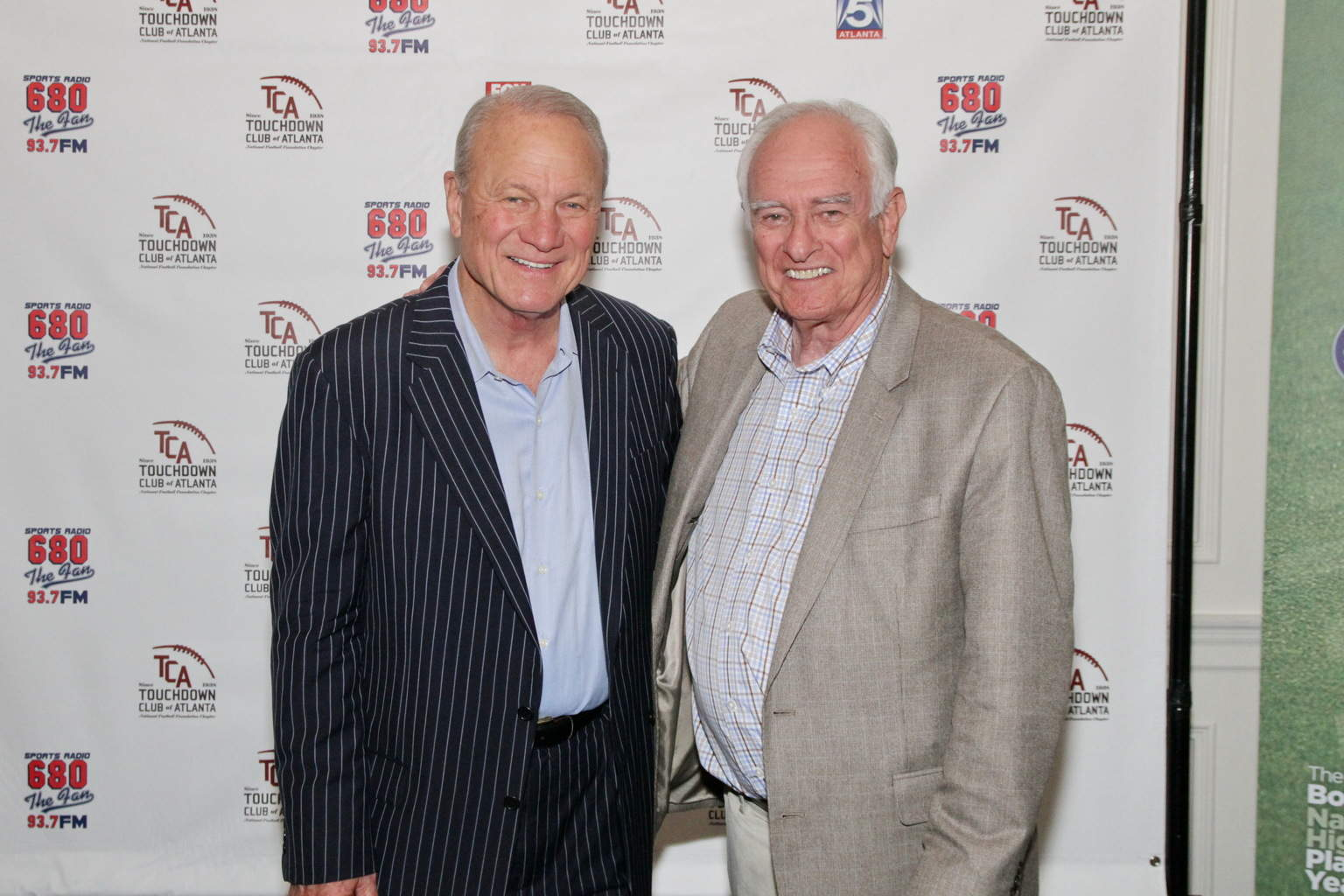 Barry Switzer & Loran Smith