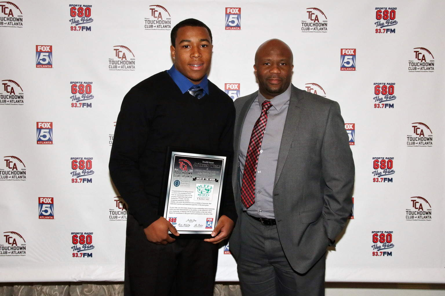 Ja'Tavien Weems & DHS HFC Mark Myers