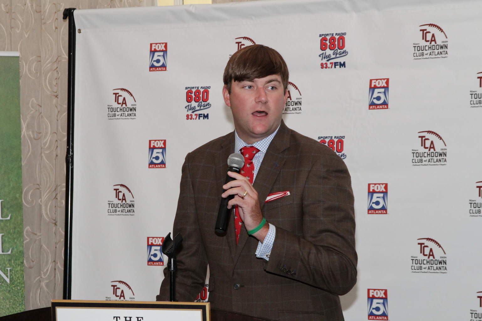TCA President Justin Clay